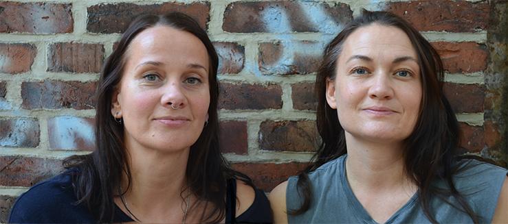 Jenny Polauke und Sarah Kipper